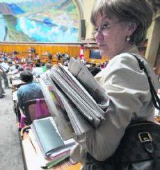 Susanne Leutenegger Oberholzer: Gegen Hinterzimmerentscheide der SNB.Bild Key