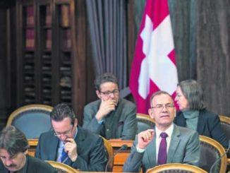 Hannes Germann drang mit seinem Anliegen, die wirtschaftlichen Folgen der Swissness-Vorlage abklären zu lassen, nicht durch. Bild Key