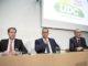 Thomas Aeschi, Norman Gobbi, Guy Parmelin: Geht es nach dem Willen der SVP-Fraktion, zieht am 9. Dezember einer dieser drei Kandidaten in den Bundesrat ein.Bild Key