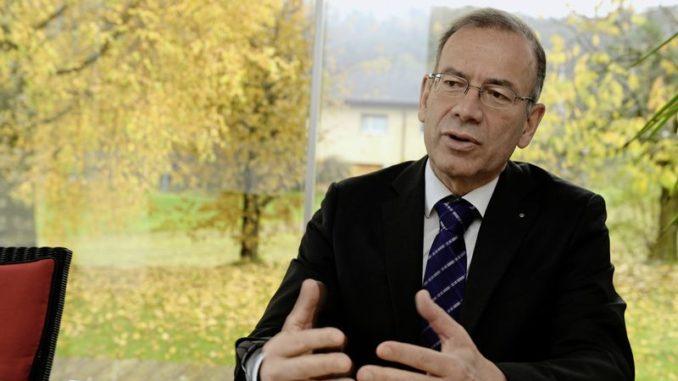 Hannes Germann wurde zwar im letzten Oktober mit einem Glanzresultat als Ständerat von den Schaffhauser Stimmberechtigten wiedergewählt, doch seine Fraktion hat ihn nicht für die Bundesratswahlen vom kommenden Mittwoch aufgestellt. Bild Selwyn Hoffmann