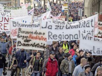 Der Protest zu Beginn der Session hat sich gelohnt: Die Bauern sind von den Budgetkürzungen ausgenommen. Zu Recht, ¬findet Ständerat Hannes Germann. Die Bauern erhielten das, was ihnen zustehe.Bild Key