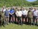 Die Ehrengäste des SHKSV auf dem Feldschiessen-Reisli, hier in Löhningen. Bild Markus Stanger