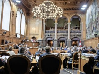Der Staenderat beraet ueber die Steuervorlage 17. (KEYSTONE/Peter Schneider)