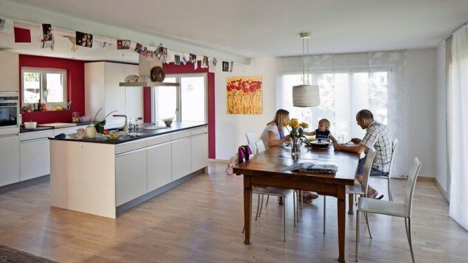 Vielen Familien machen hohe Mietkosten zu schaffen. BILD KEY