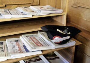 Interesse bei den Leserinnen und Lesern, aber kein Geld aus dem Inserategeschäft. Die Corona-Krise bringt klassische Medien in Schwierigkeiten. BILD KEY